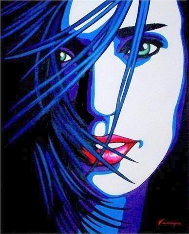 Beautiful Jennnifer (Connelly) Acrílico Lienzo Retrato