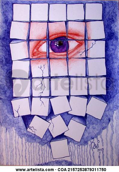 Derrumbe interno Figura Otros Cartulina