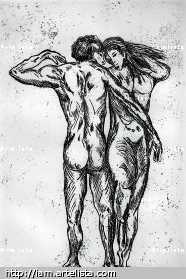 Hercules e Hipolita Aguafuerte