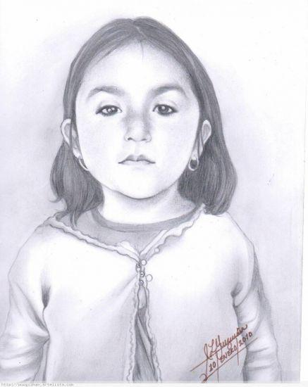 Mi sobrinita Valeria Wendolyn Lápiz