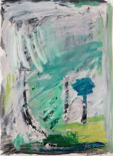 átmosfera con árbol
