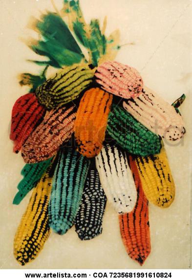 Pop Corn Color (Química) Conceptual/Abstracto