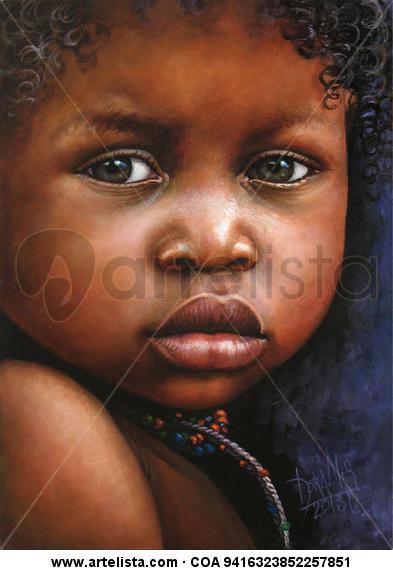 niño de áfrica 73