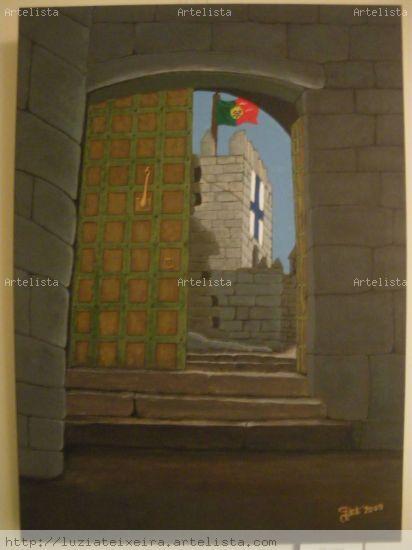 Porta do Condado Paisaje Lienzo Óleo