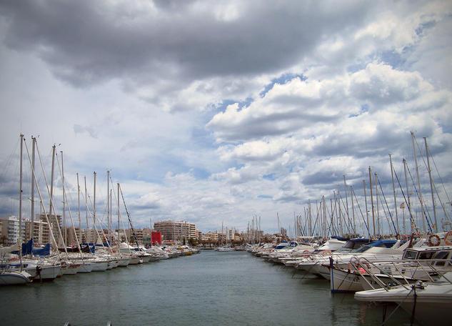 09-04.395 - Puerto de Santa Pola (España) - Abril del 2009 Color (Digital) Viajes