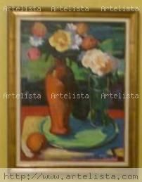 Flores para Cuté Acrílico Lienzo Floral