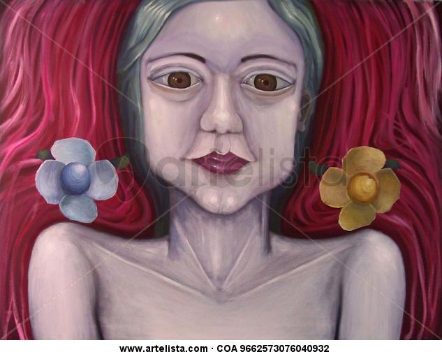 Anima mundi Others Oil Canvas