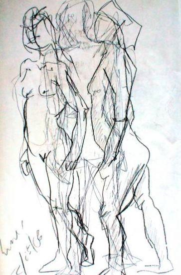 Dibujos de gente haciendo algo