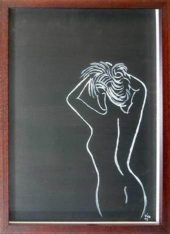 Girl15 Acrílico Otros Desnudos