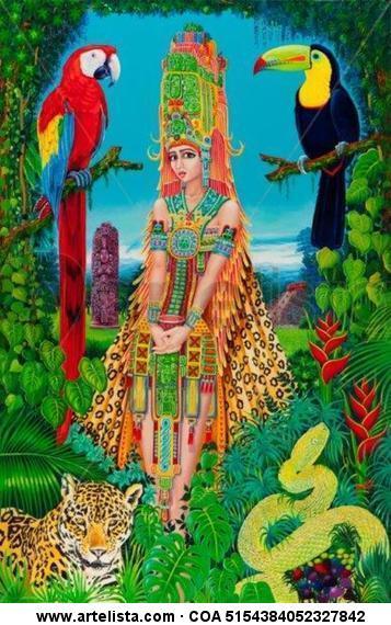 Honduras Maya Carlos Andino - Artelista.com - en