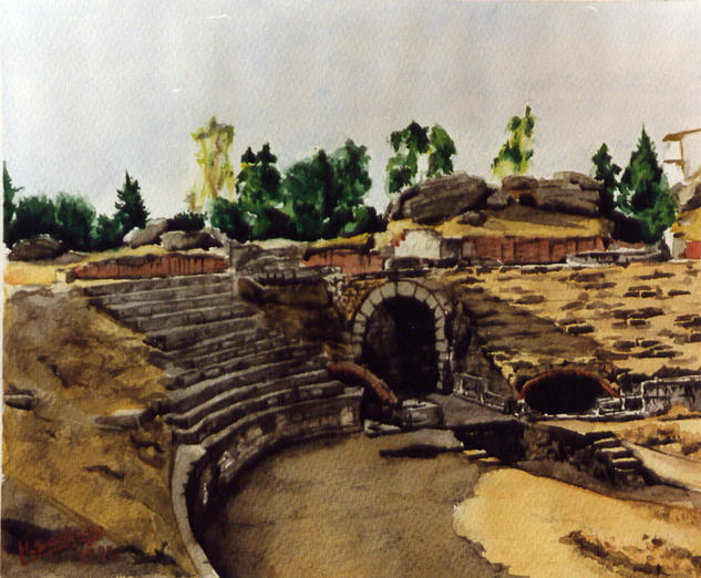 anfiteatro romano. merida