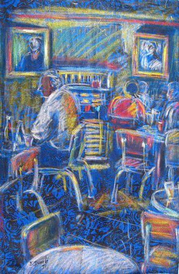 Azul noche II Otros Tela Otros