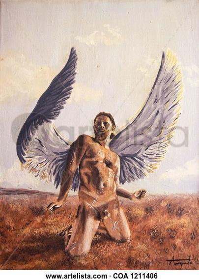 Sin pecado concebido Nude Paintings Acrylic Canvas