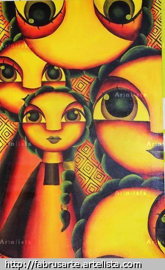 Memicromia Lienzo Acrílico Otros