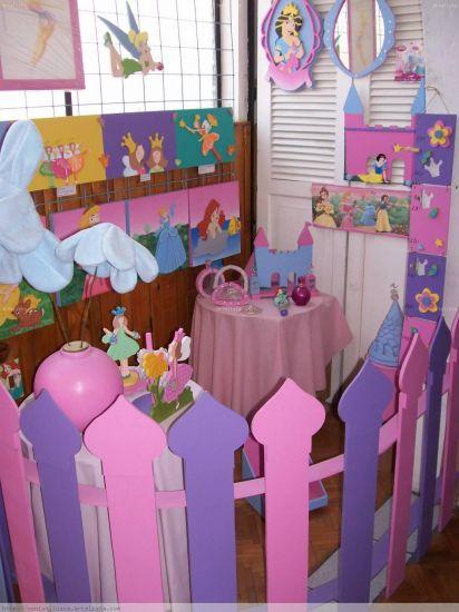 Decoracion de princesas sonia maria llusca escobar for Decoracion de princesas