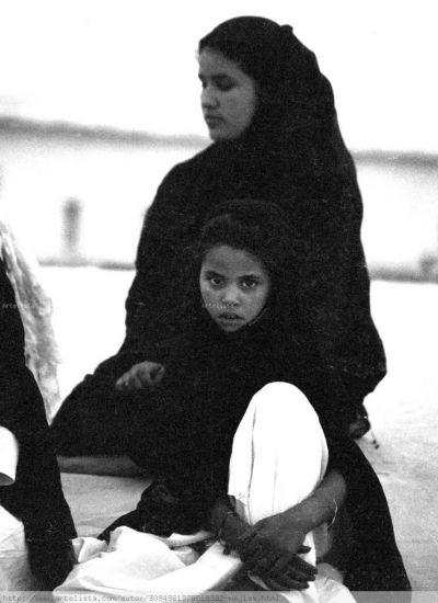Mariam et fatimetu Retrato Blanco y Negro (Química)