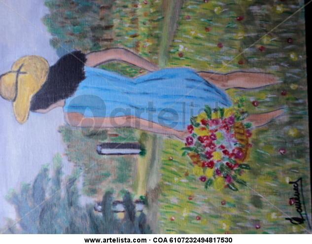 dona i flors