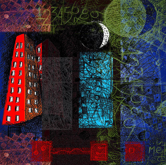 La Ciudad decimal y la suma del materialismo, variación en Sol Mayor sostenido sobre una ciudad descarnada y otros bla, bla, bla!