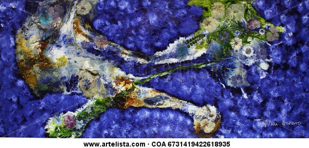 CRUCE DE CAMINOS Óleo Floral Otros