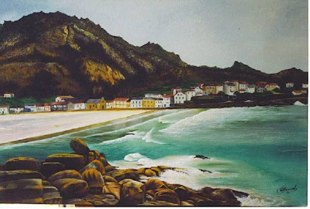 O Pindo(Costa da morte-Galicia) Oil Canvas Landscaping