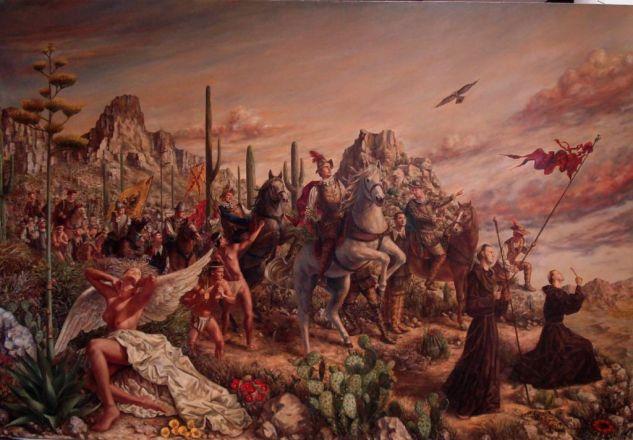 El arribo de Coronado a las tierras de Arizona