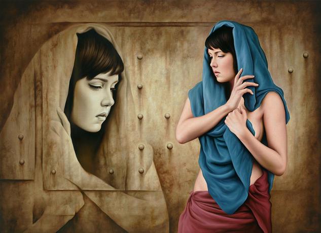 MIRADA INTERIOR Canvas Oil Nude Paintings