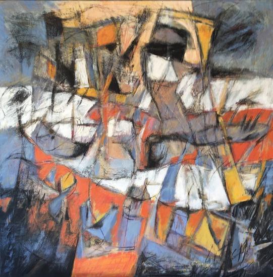 PISTA DE ATERRIZAJE Canvas Acrylic Others