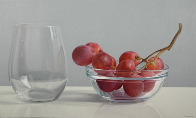 Uvas fresca Oil Canvas Still Life Paintings