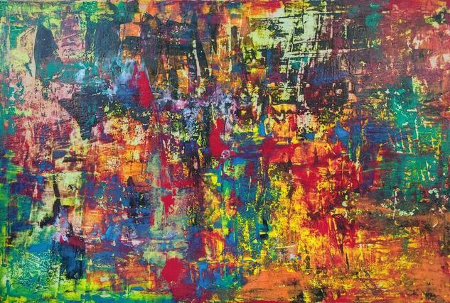 Comienzo (Start) Others Gouache Canvas