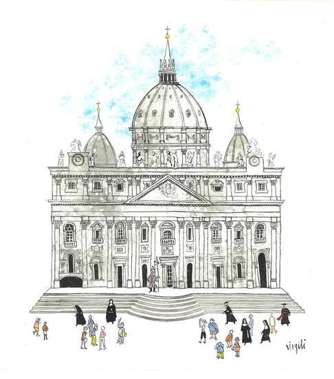 Vaticano Tinta