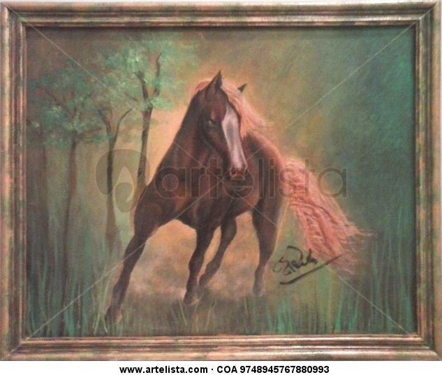 La elegancia del caballo Animales Óleo Lienzo