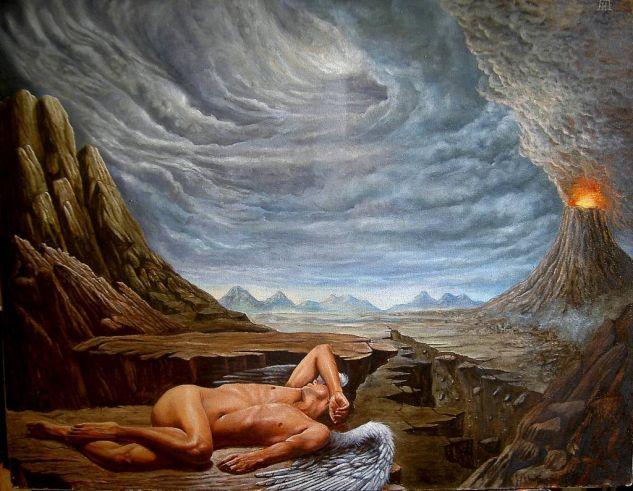 REVELACIONES Óleo Lienzo Desnudos