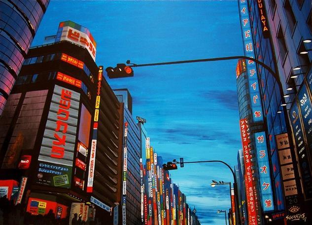 Shinjuku, Tokyo #2 Tabla Otros Paisaje