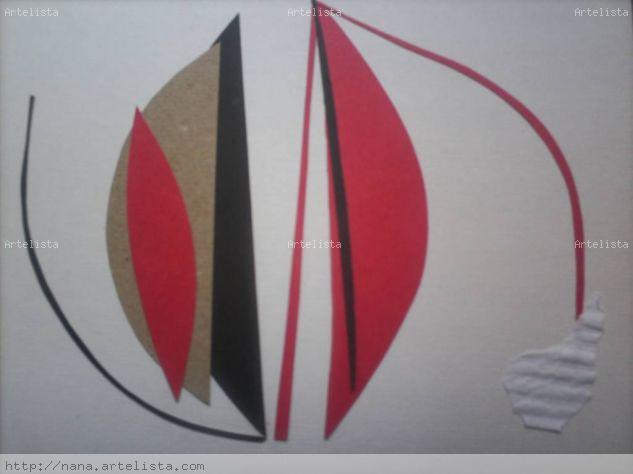 Formas simples Lienzo Paisaje