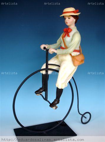 Velocípedo II Cerámica Figurativa