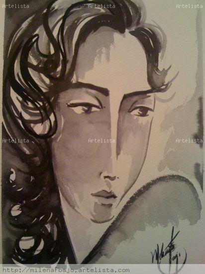 Mujer Tinta