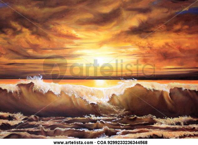 olas del crepúsculo