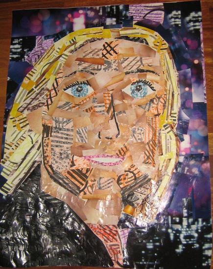 Mi madre Portrait Card
