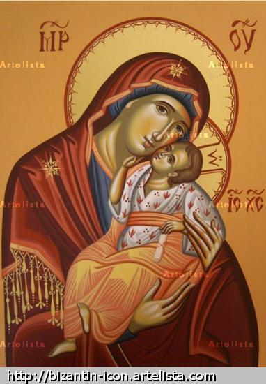 Mother of God / Virgen con el Niño / Virgin Mary Otros Gouache Otros