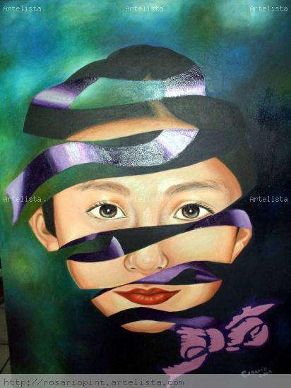 Por una Vida sin Violencia Acrílico Lienzo Retrato