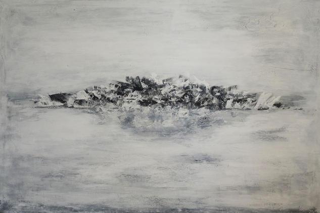 La soledad - Solitude Lienzo Acrílico Marina