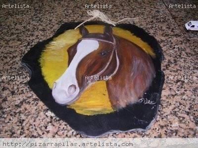 caballo Óleo Otros Animales