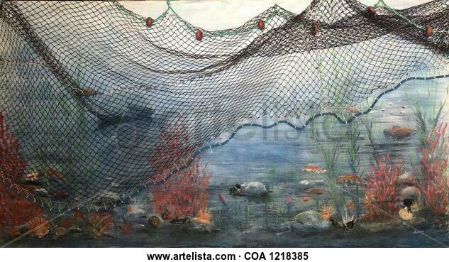 Fondo marino Marine Canvas