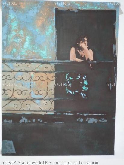 Refleccion II Óleo Lienzo Paisaje