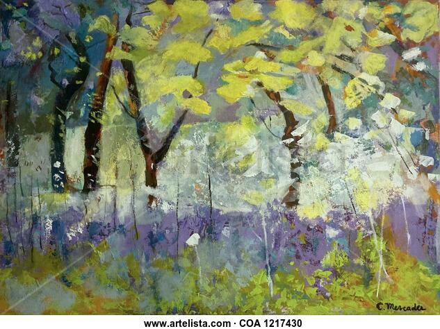 Poema Landscaping Acrylic Canvas