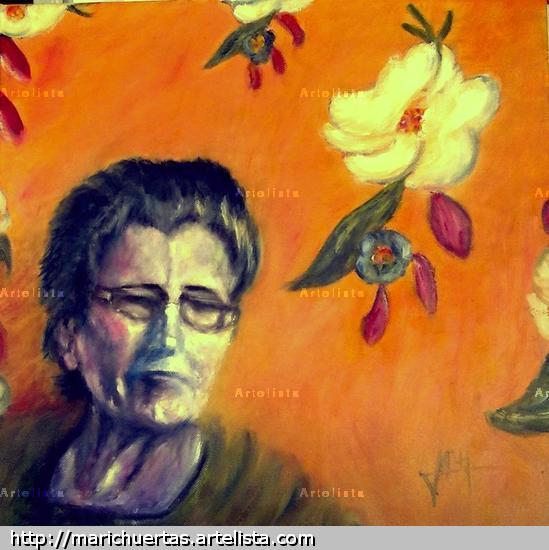 Mamá Lienzo Óleo Retrato