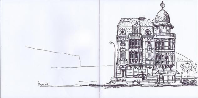 Edificio en Muelle de Olabeaga. Bilbao Rotulador