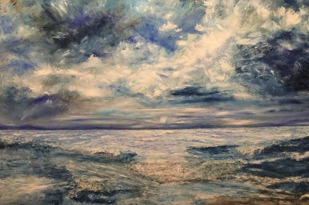 Aire Marine Painting Oil Canvas