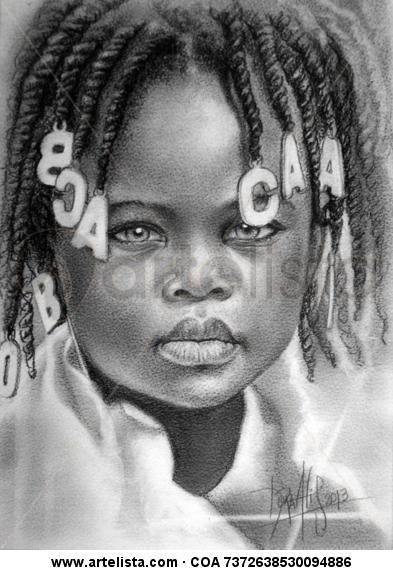 niña de áfrica n°64