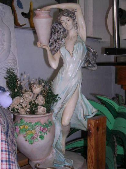 Lampara Mármol Piedra, Mármol y Escayola